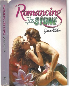 ROMANCING THE STONE COVER AVON